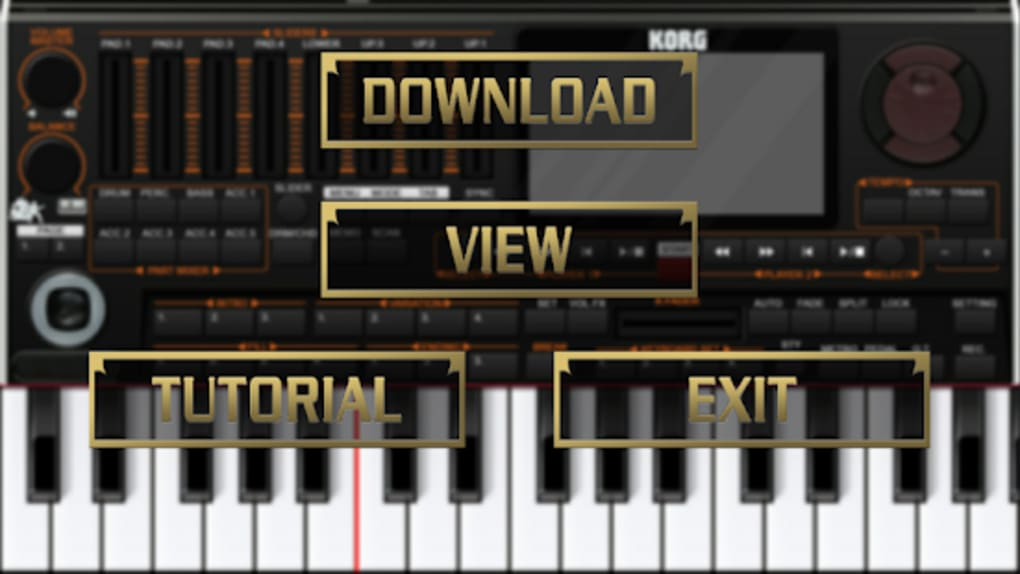 Skin KORG PA4X For ORG 2019 for Android - Download