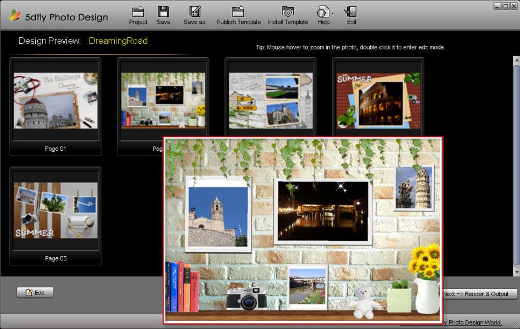 5dfly photo design 2.28