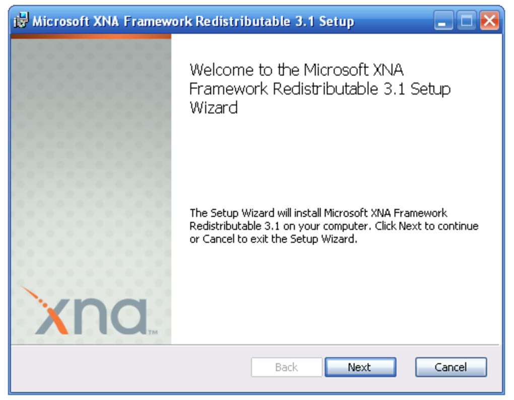 Microsoft xna framework download.
