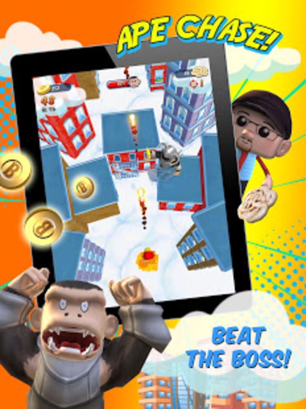 FGTeeV Ape Chase for Android - Download