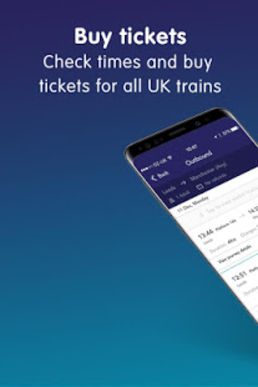 Northern train tickets times for Android - Download
