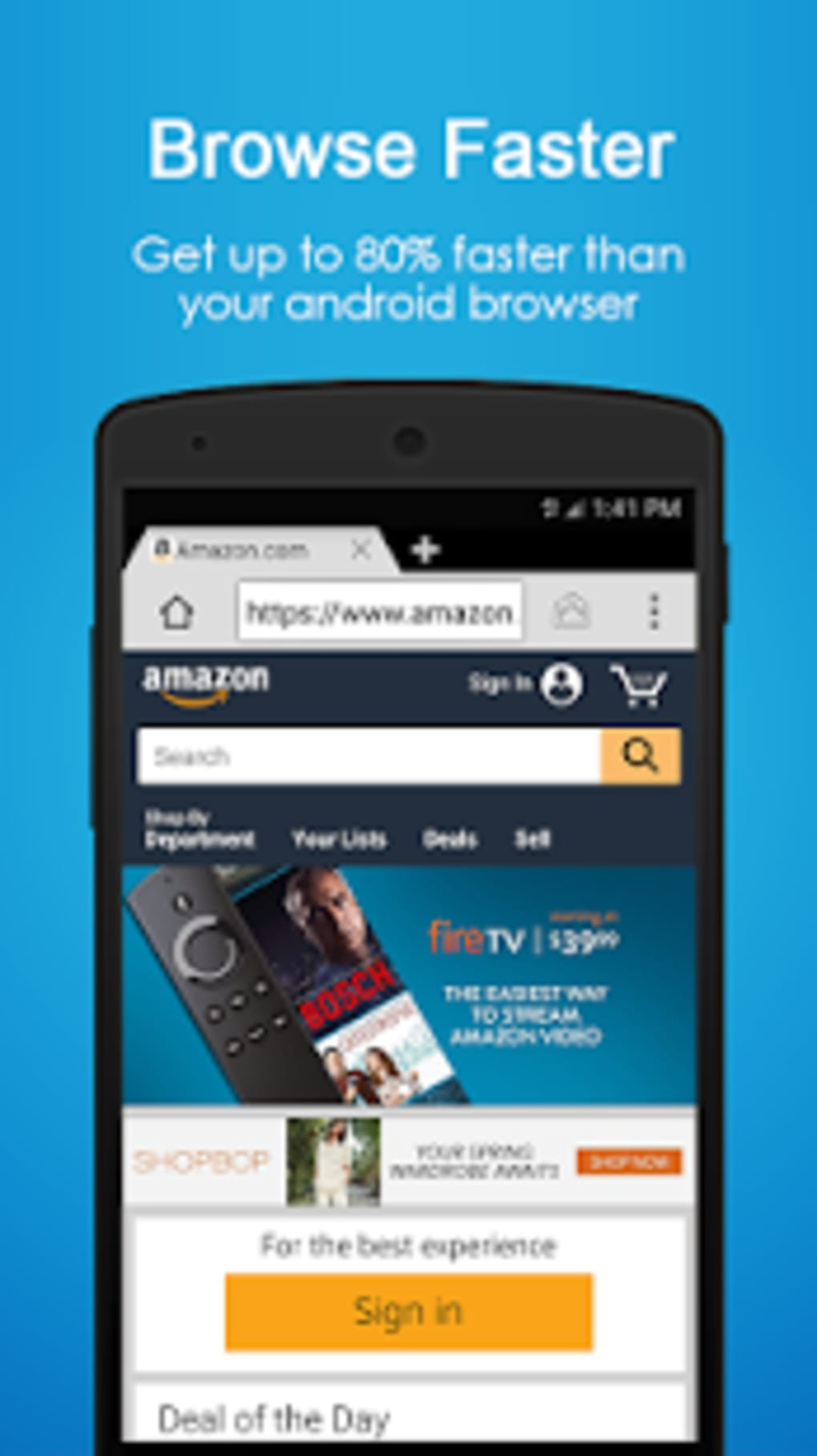 Browser 4G for Android - Download