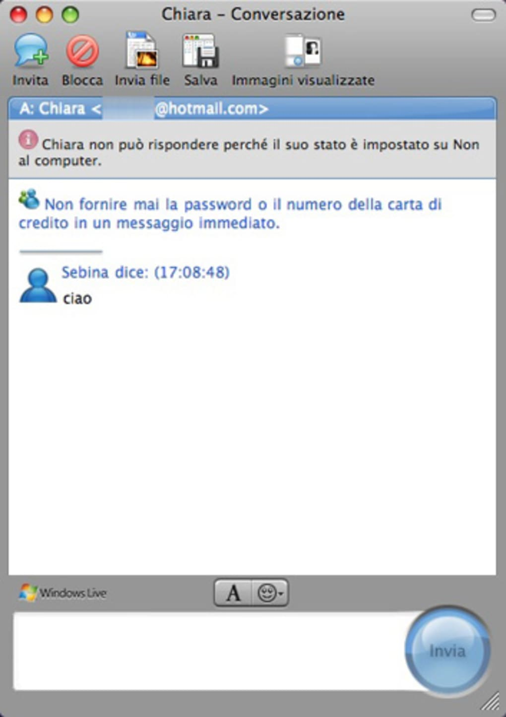Microsoft Messenger per Mac - Download