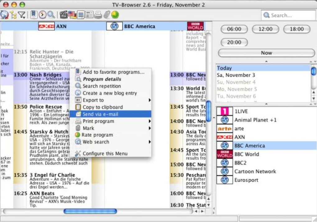 Download Tv Program For Mac