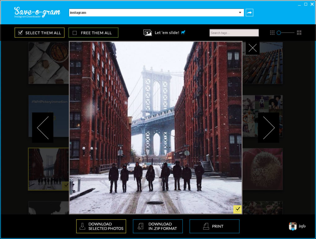 download instagram photos for pc free