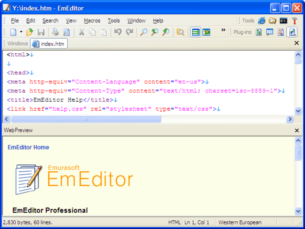 EmEditor - Download