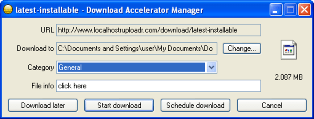 Download Accelerator Manager - Download