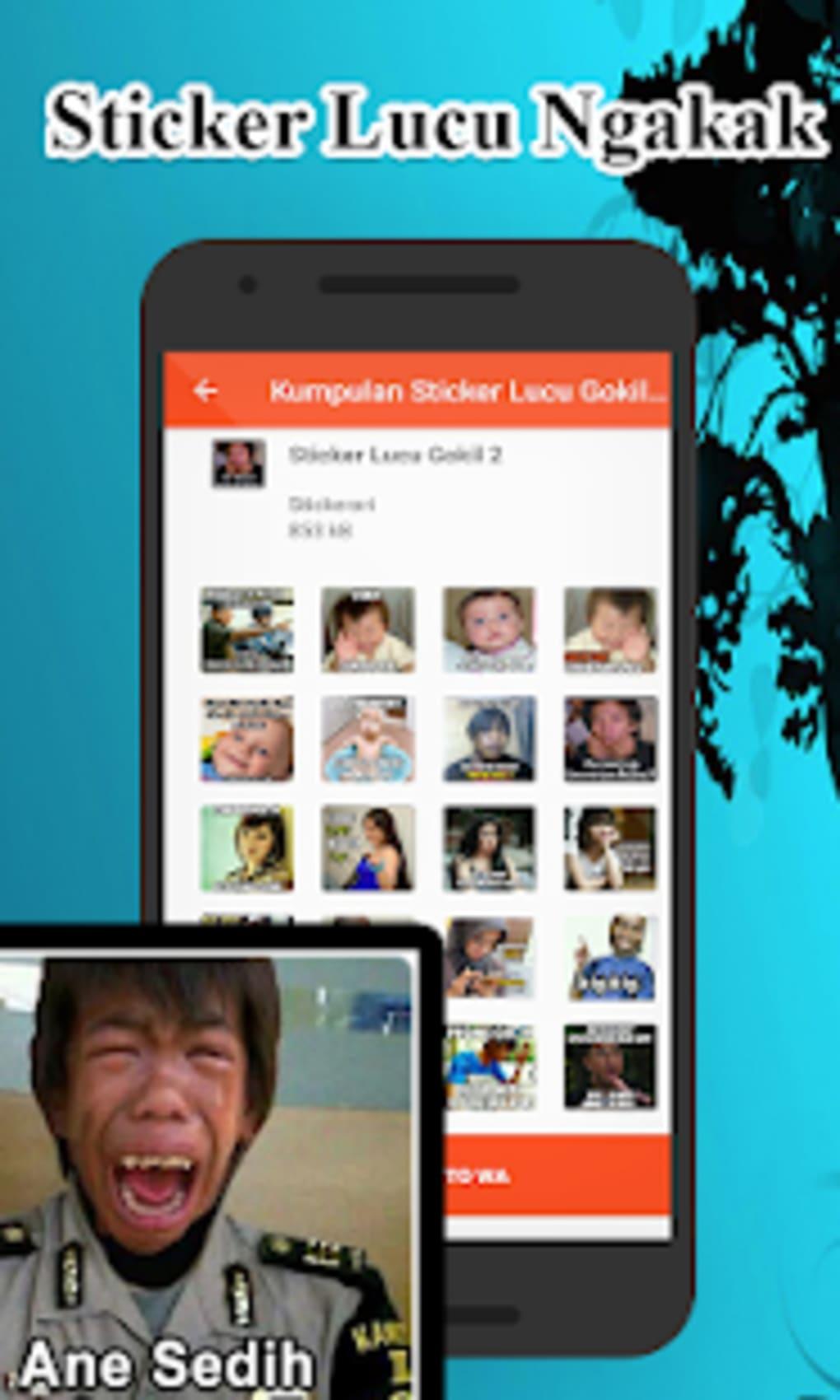 Kumpulan Sticker Lucu Gokil WAstickerApps Untuk Android