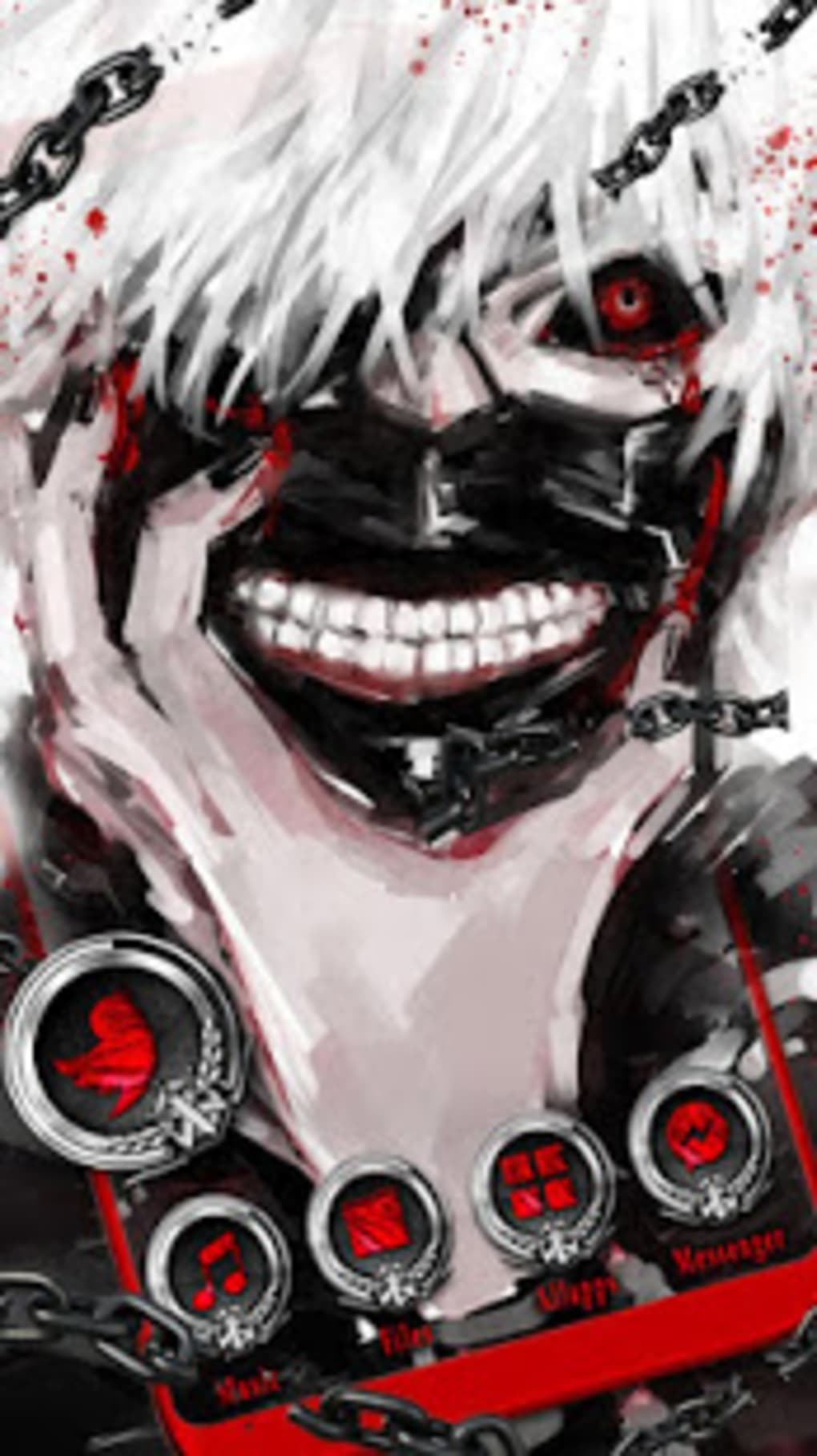 Anime Ken Kaneki Themes Live Wallpapers For Android Download