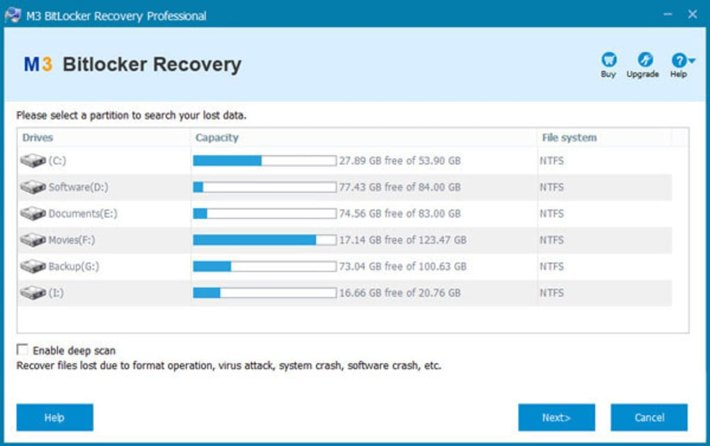 M3 BitLocker Recovery Professional - Download