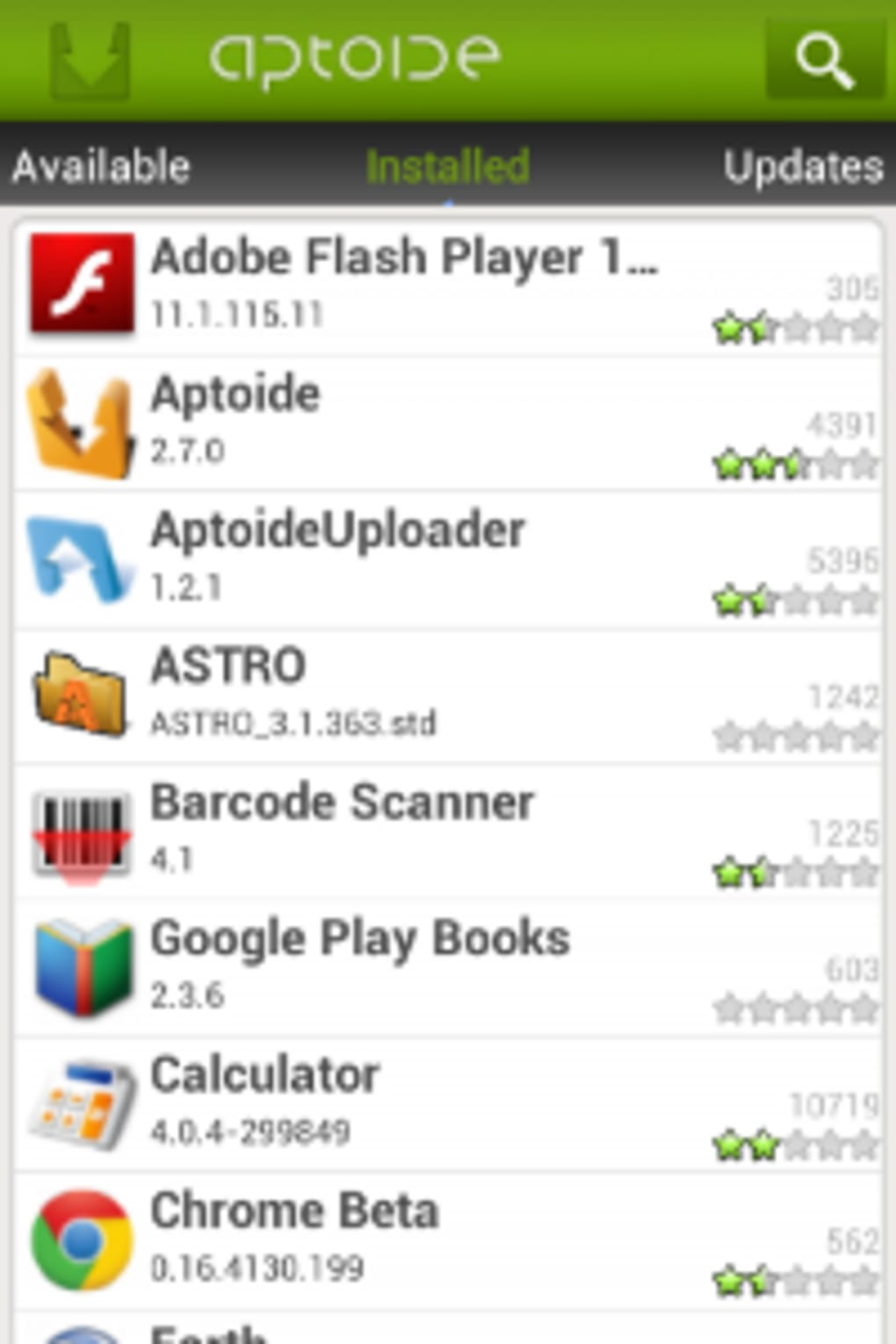Aptoide For Android: Aptoide Na Android