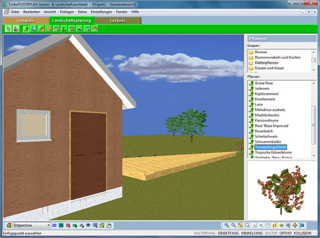 Turbo floorplan garten und landschaftsarchitekt download - Gartenplaner software freeware ...