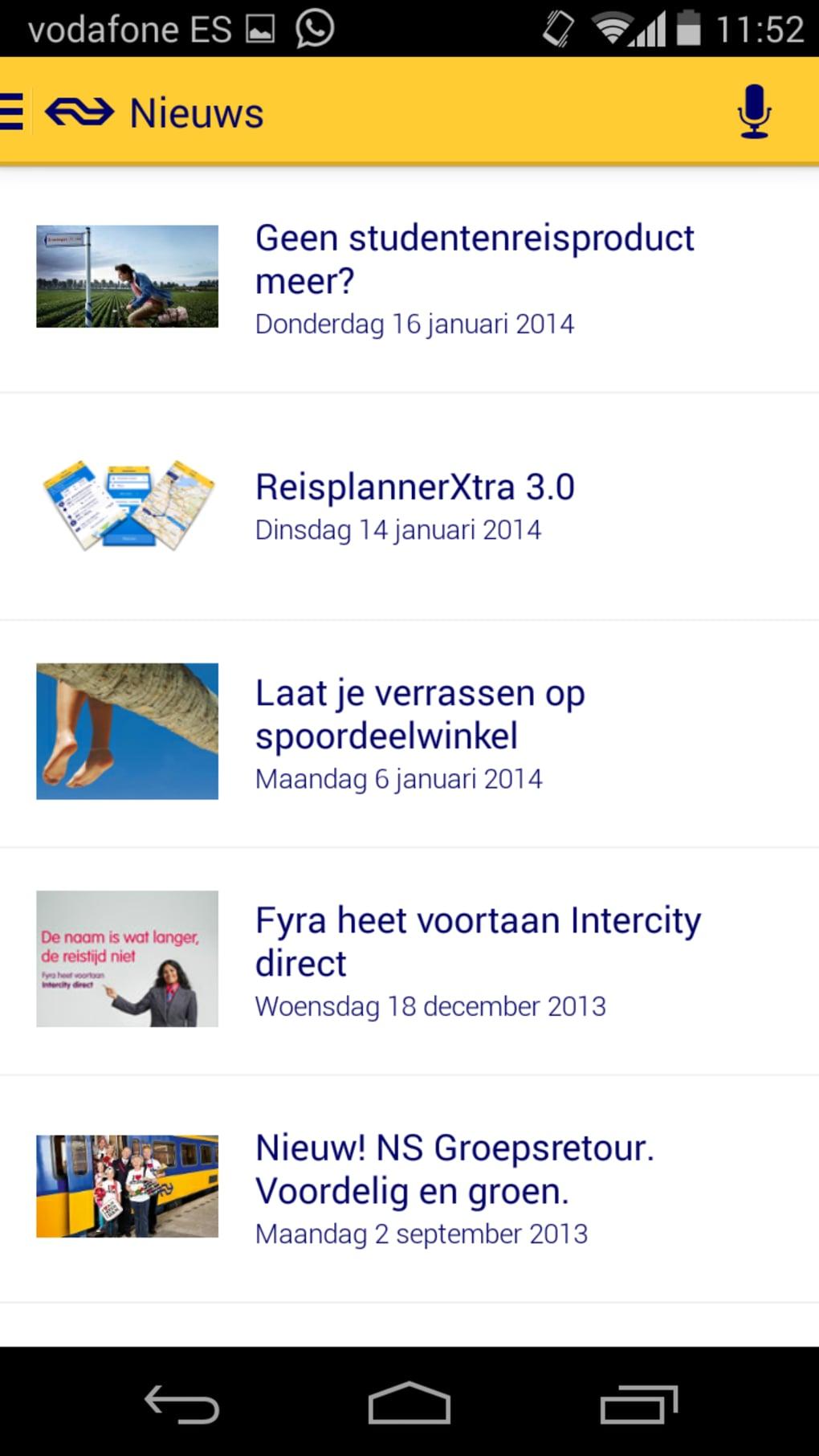 Download NS Reisplanner Xtra APK | downloadAPK.net