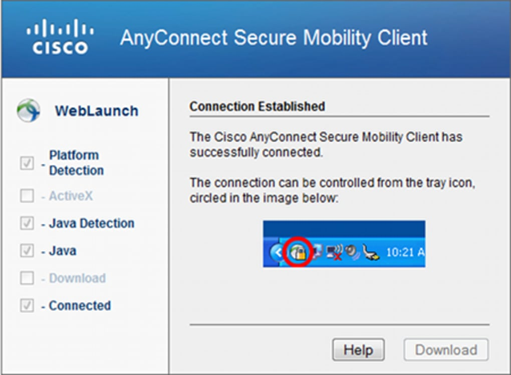 cisco anyconnect client software download