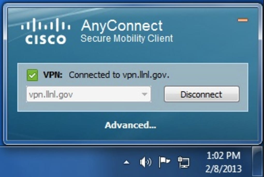 cisco anyconnect secure mobility client free download windows 8
