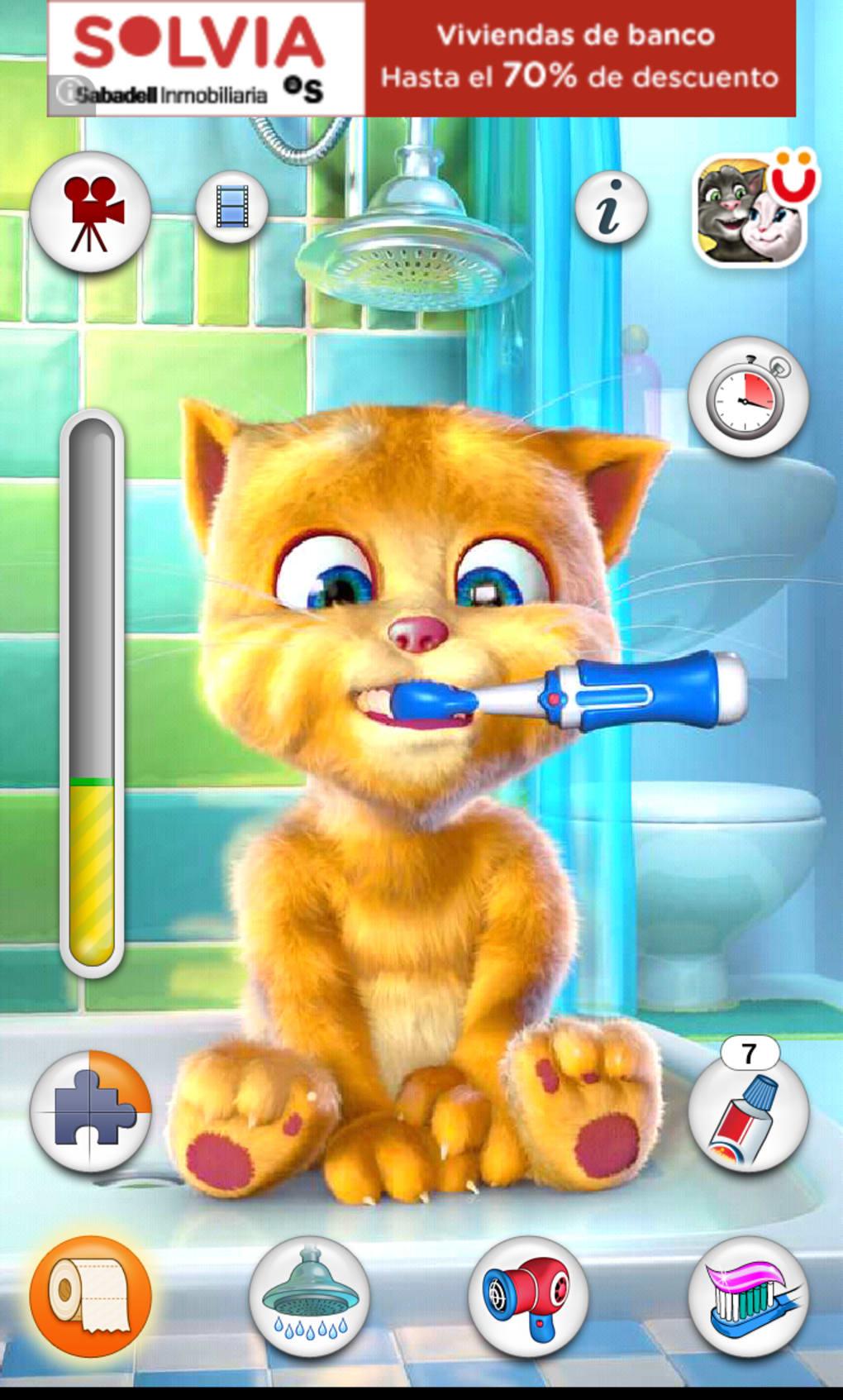 Telecharger tom le chat qui parle sur samsung gratuit
