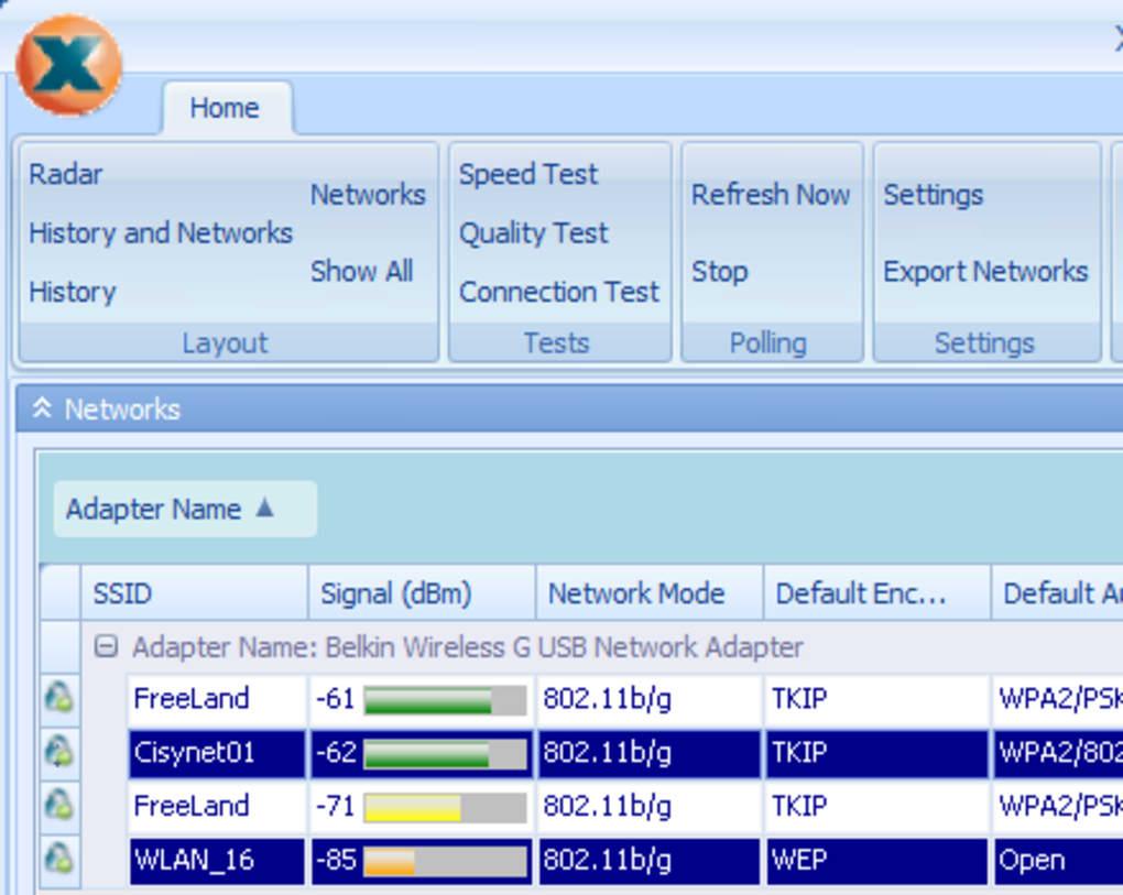 xirrus wifi inspector para windows 7 gratis