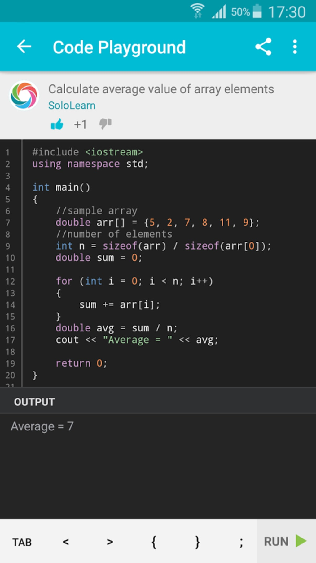 c programming software for android free download