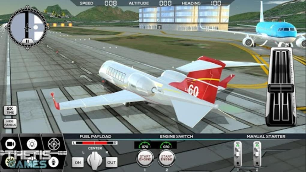 Flight Simulator 2017 FlyWings for Android - Download