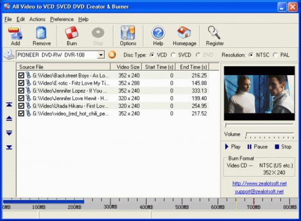 All Video to VCD SVCD DVD Creator & Burner - Download