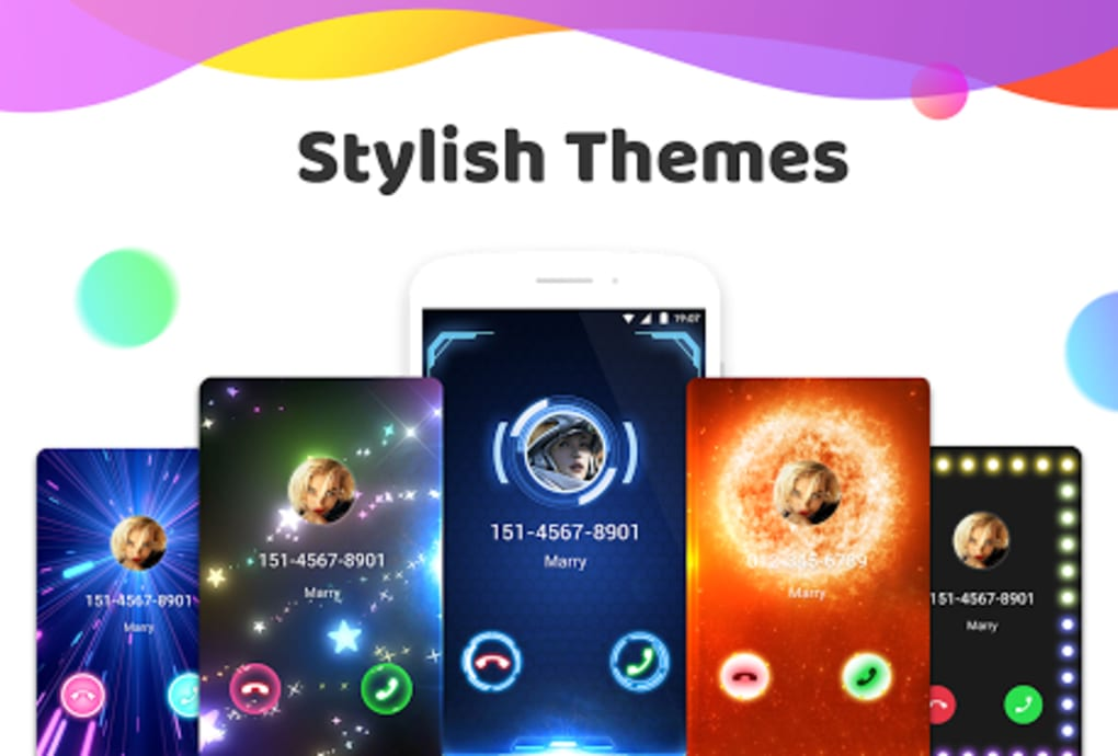 Color Phone Flash - Call Screen Theme for Android - Download