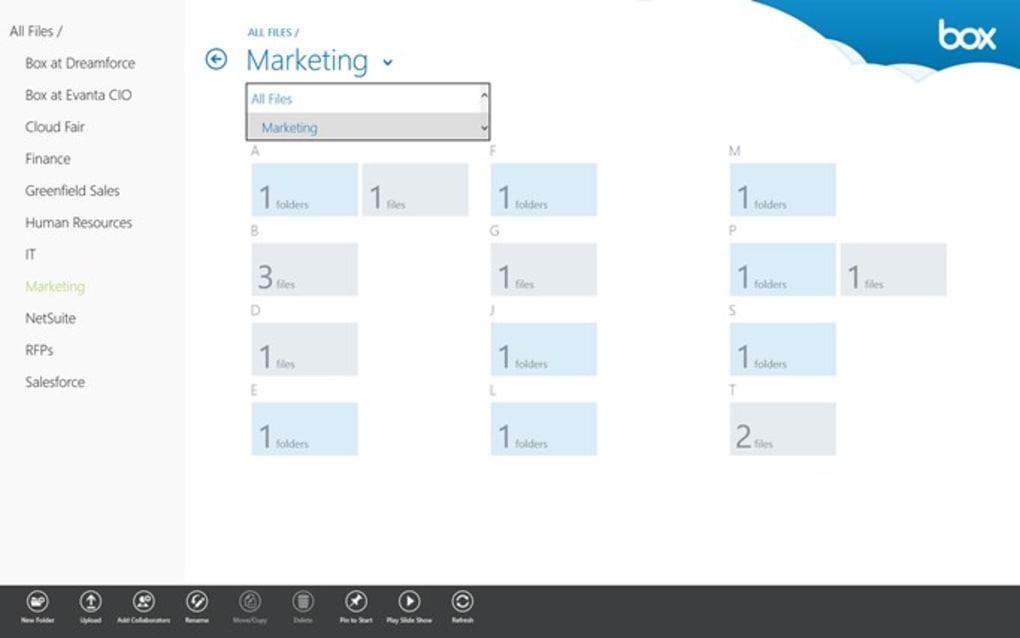 Box for Windows 8