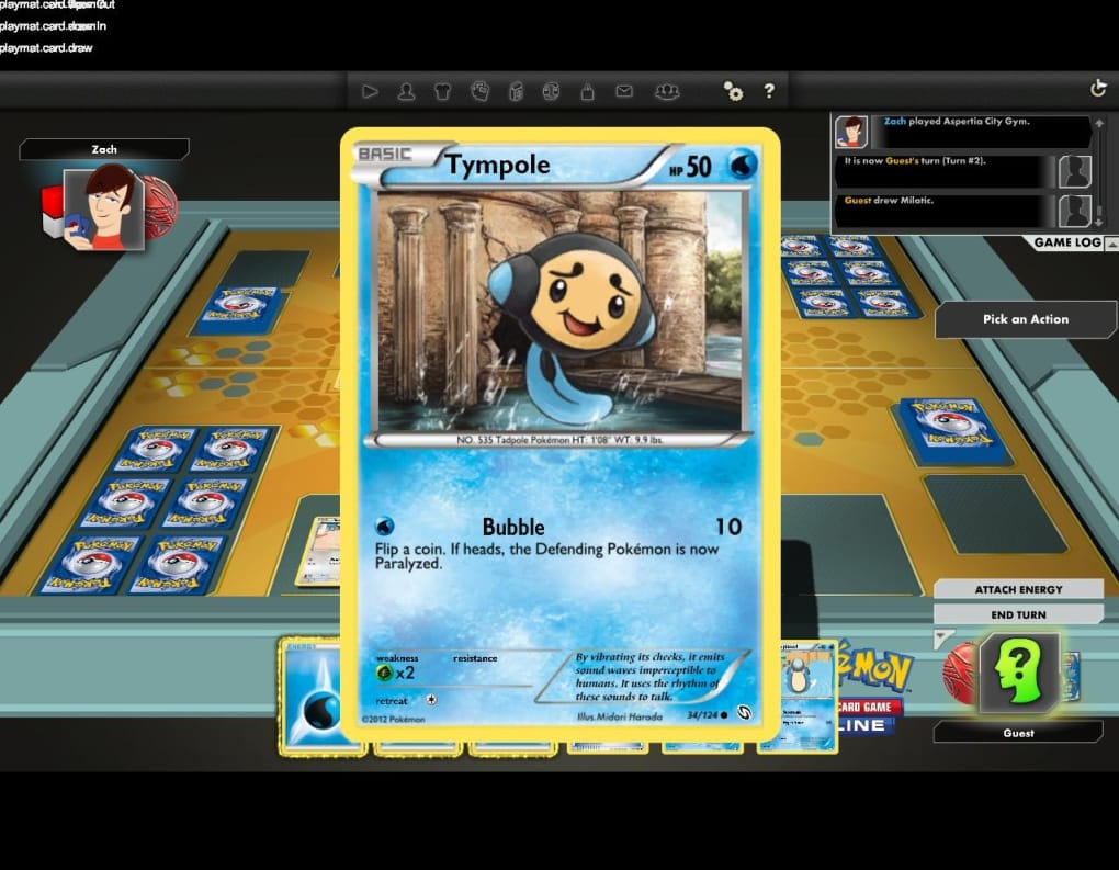 Pokemon Trading Card Game Online for Mac - Download