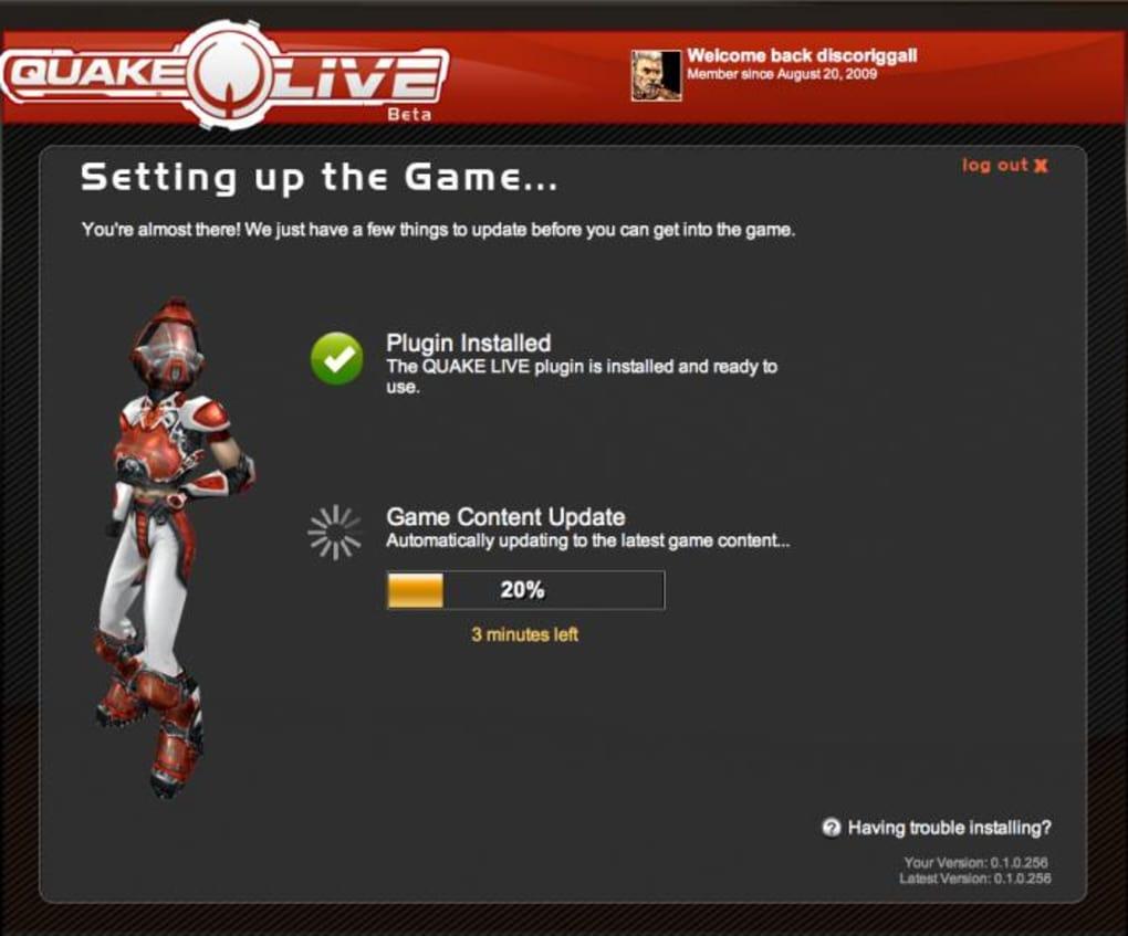 quake live plugin not working mac