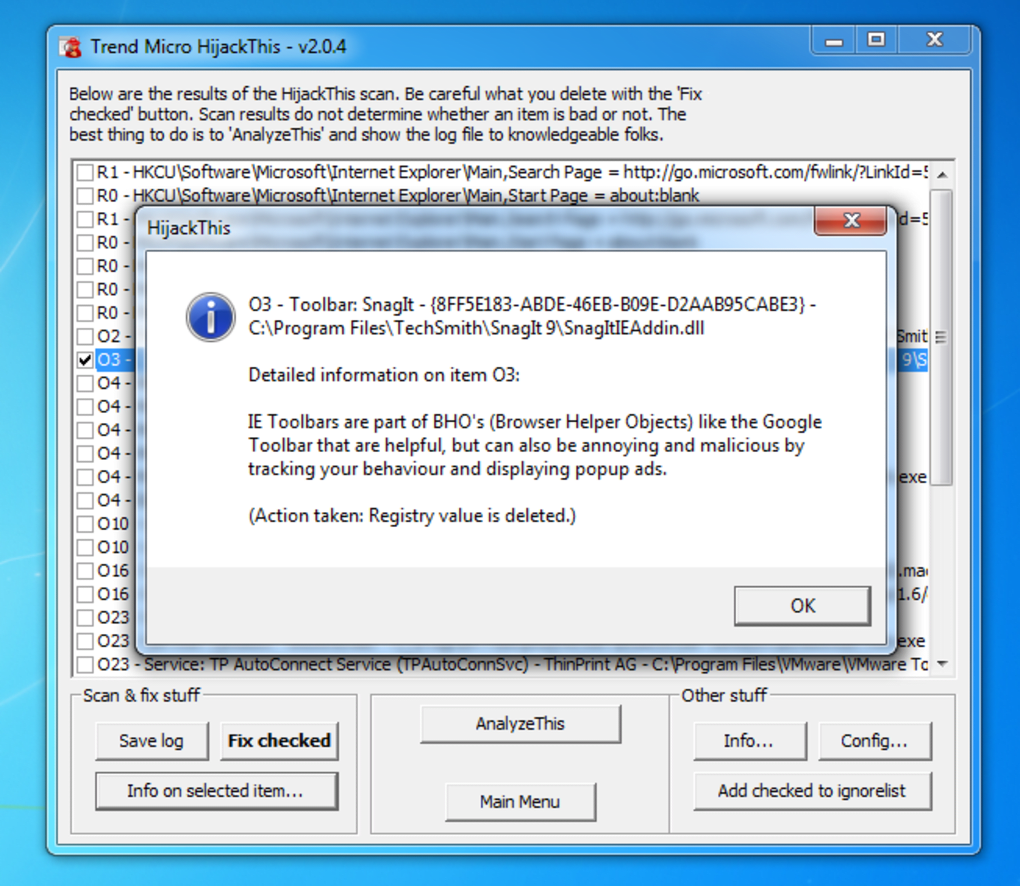 Trend micro hijackthis windows 10 screenshot windows 10 download.