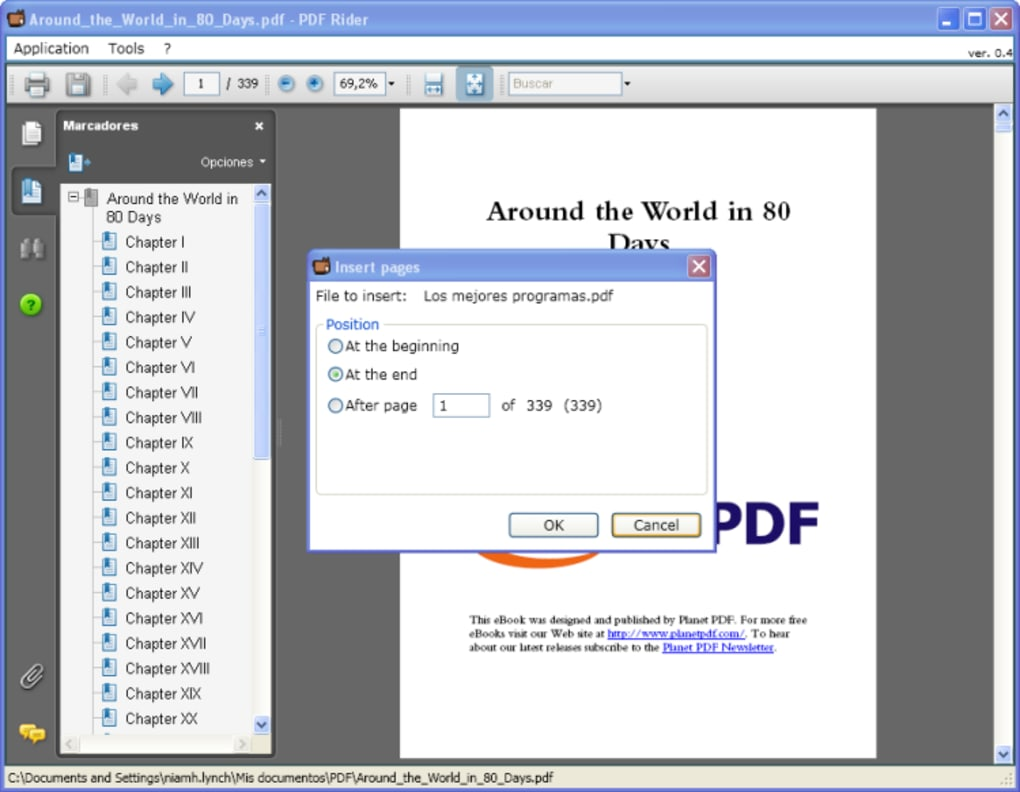 For pdf android rider