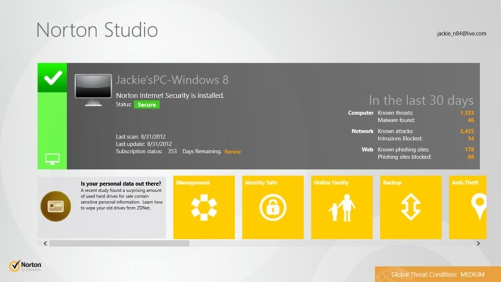 antivirus norton gratis para pc windows 10
