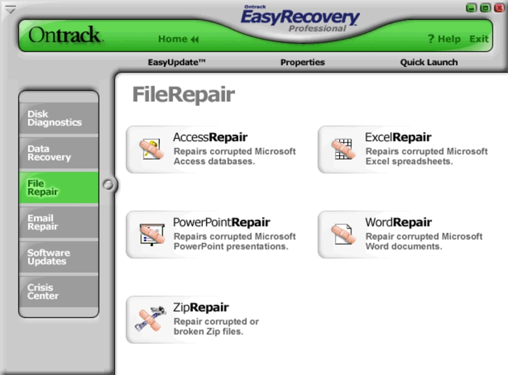 TÉLÉCHARGER ONTRACK EASYRECOVERY PROFESSIONAL 6.04