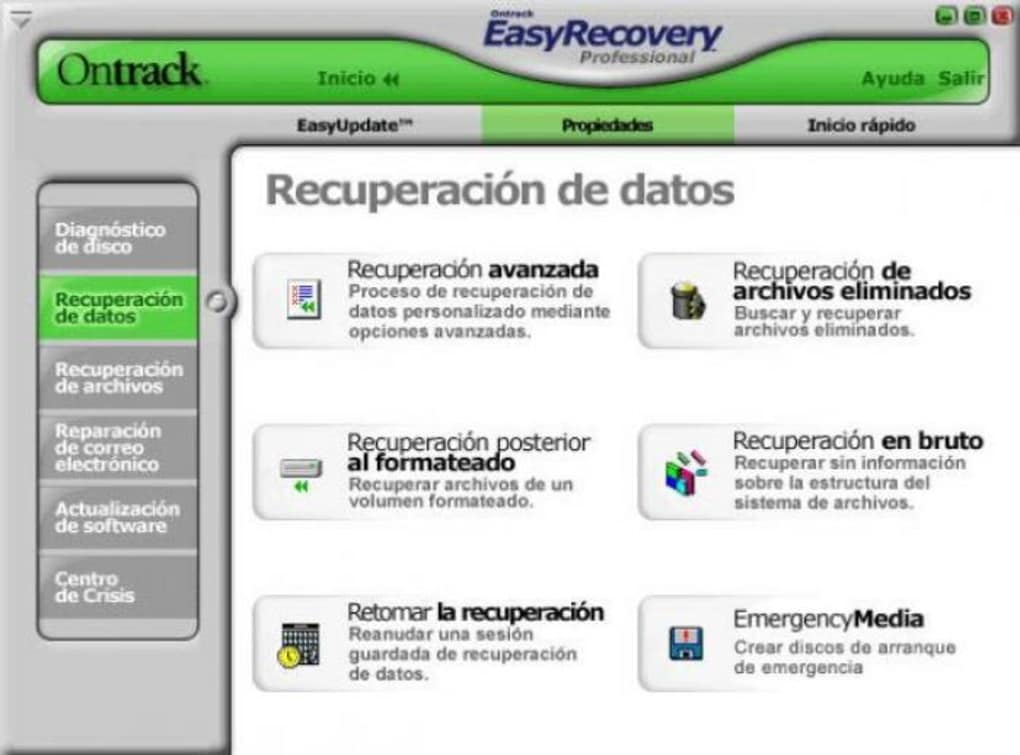 easy recovery professional 6.03 gratuit