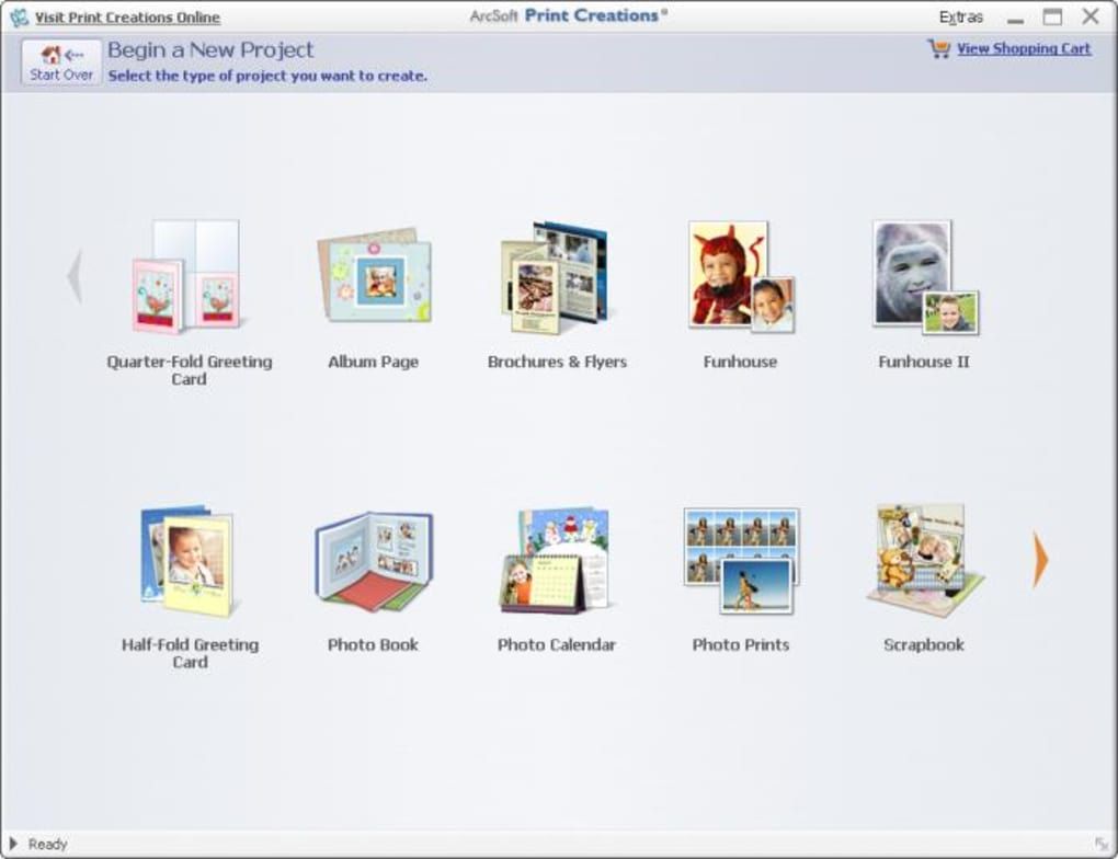 arcsoft print creationstm - scrapbook
