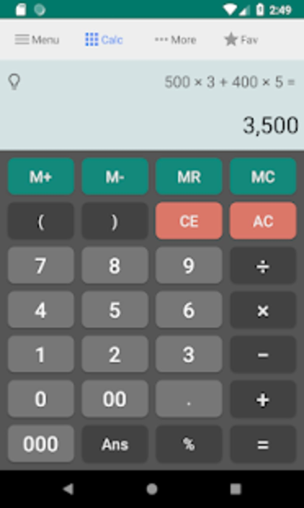 download calculator for android free