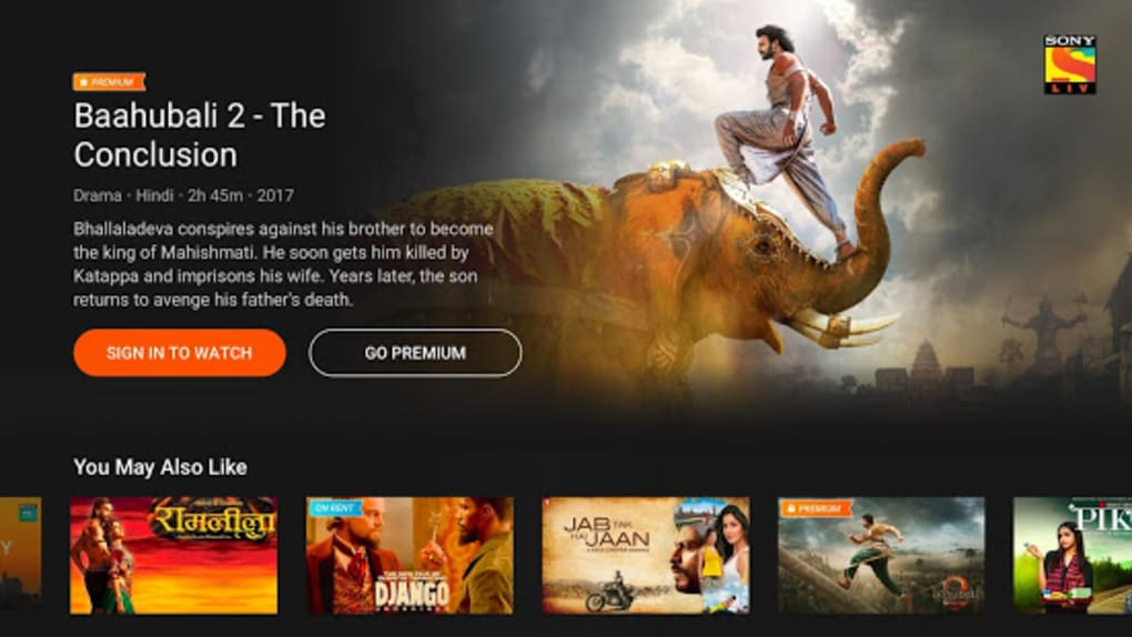 SonyLIV - TV Shows Movies Live Sports Online TV for Android
