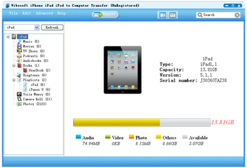 iPhone/iPad/iPod to Computer Transfer - Download