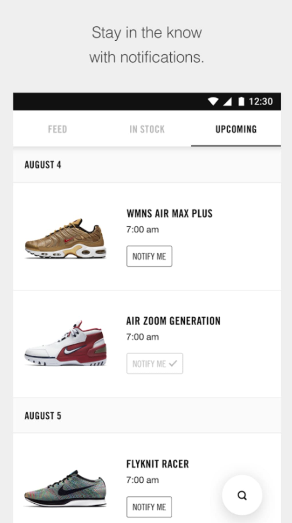Nike SNKRS for Android - Download