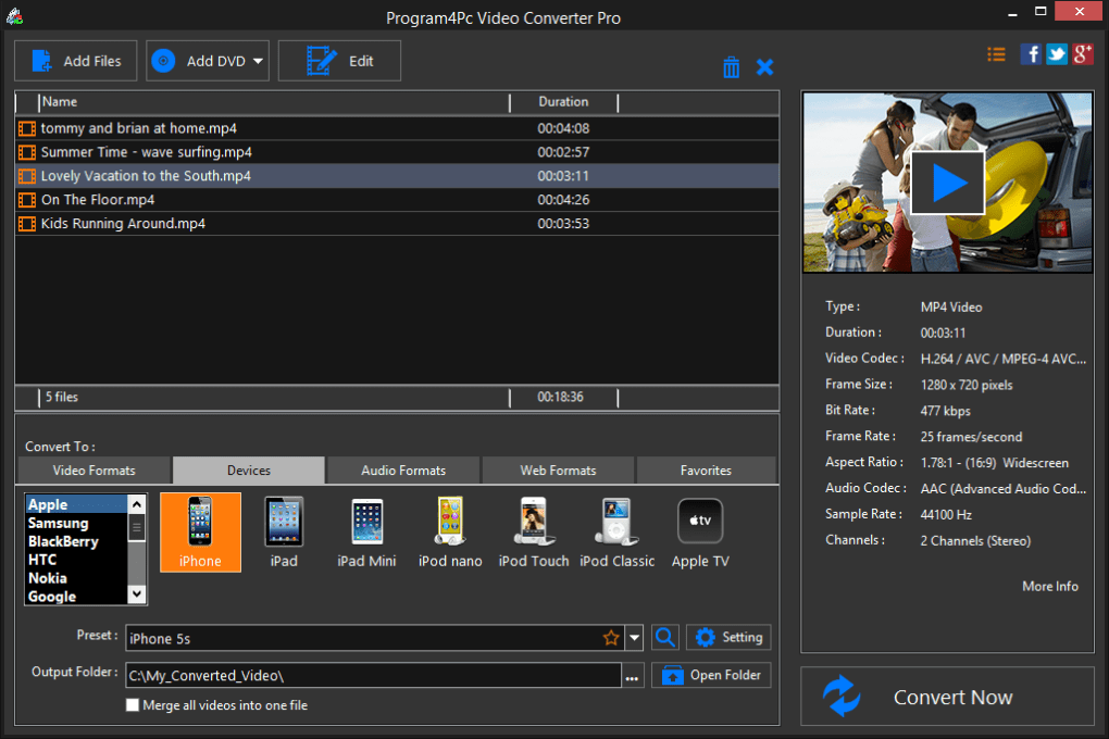 PC Video Converter - Descargar