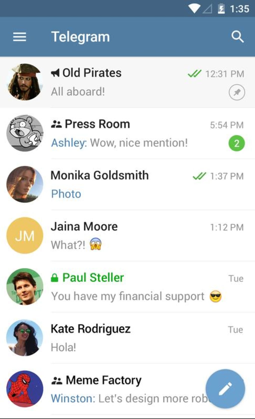 Telegram for Android - Download
