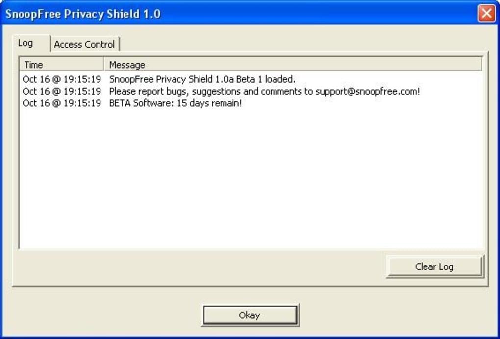 snoopfree privacy shield 1.0.7