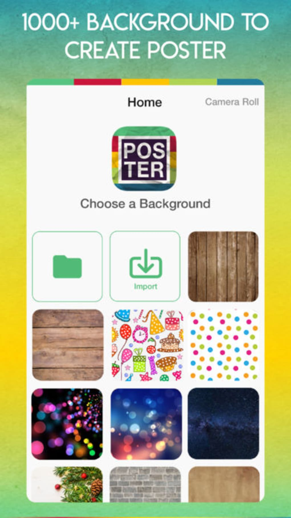 poster maker flyer maker for iphone download