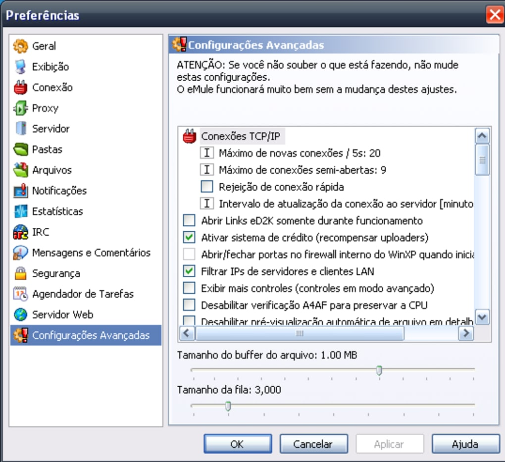 EMULE DOWNLOAD SERVIDORES GRATUITO 2013