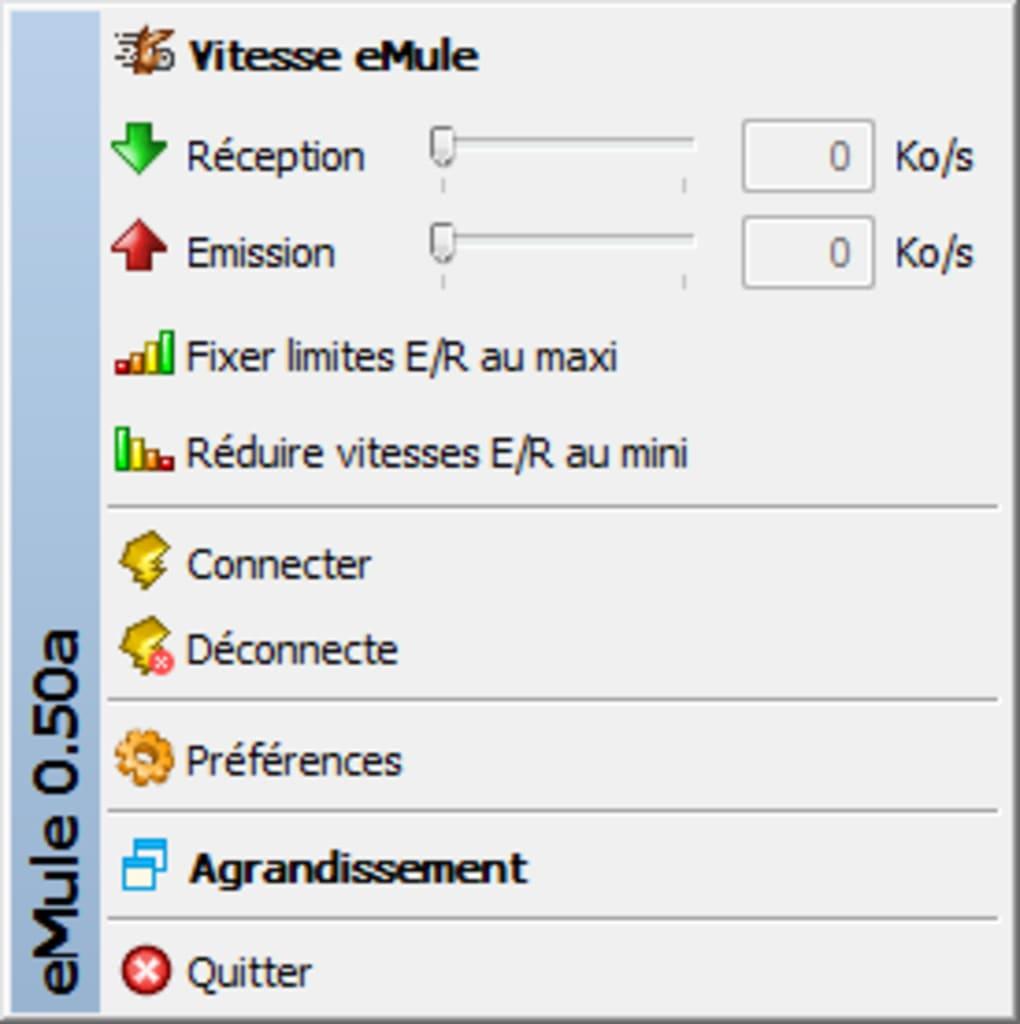 EMULE 0.50 01NET TÉLÉCHARGER