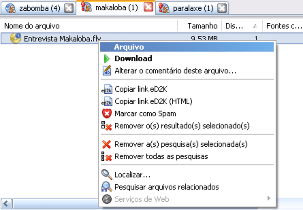 emule download musicas mp3 gratis
