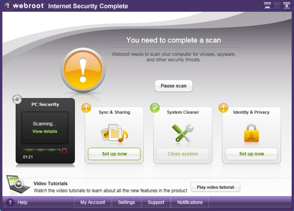 Webroot Internet Security Complete Descargar