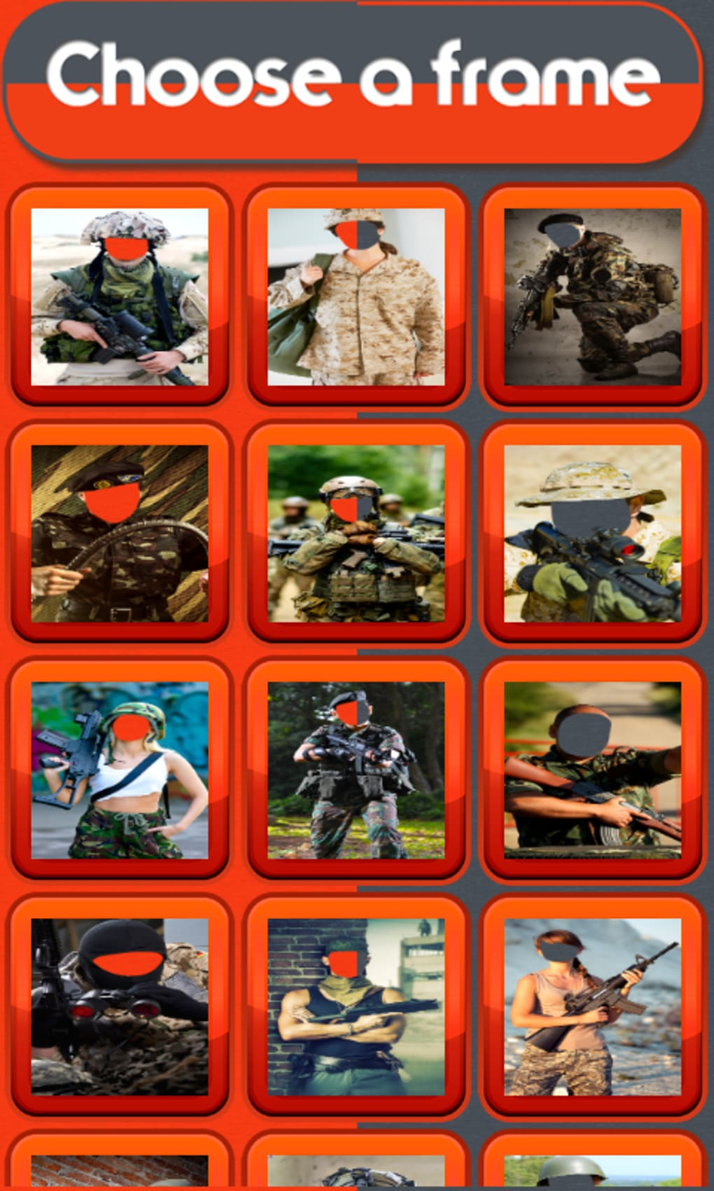 Army Photo Montage