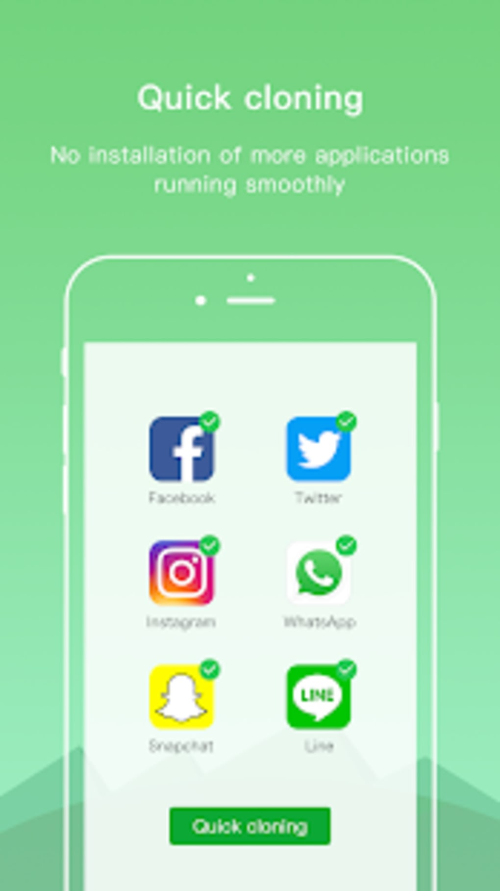Dual Space Lite - Multiple Accounts Clone App for Android