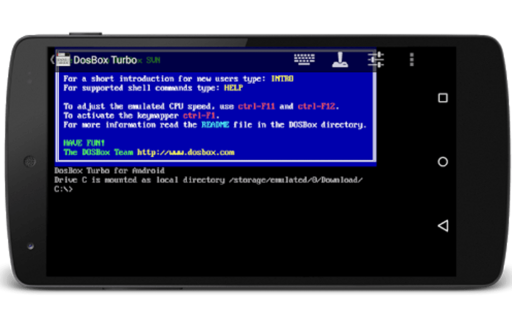 Free dosbox turbo extreme apk download for android | getjar.