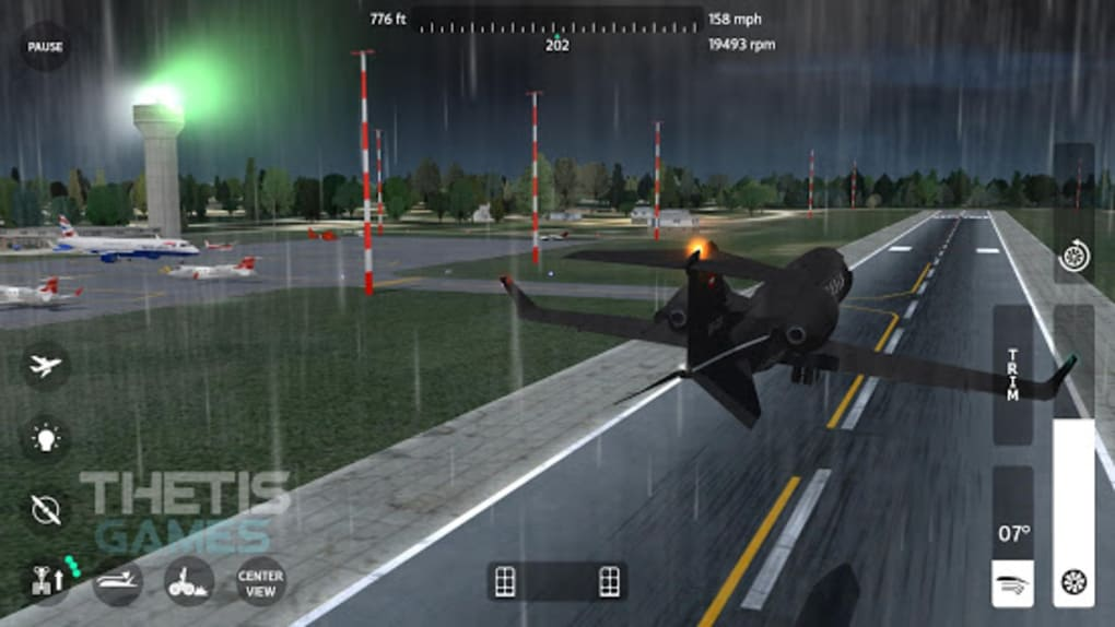 Flight Simulator 2018 FlyWings Free for Android - Download